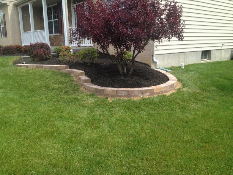 Downingtown Garden/Retaining Wall